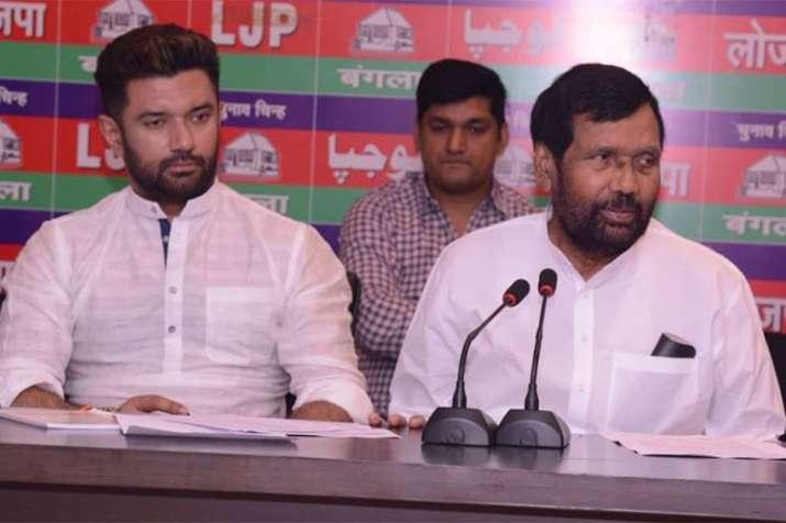 Listen to allies before it's too late, tweets LJP leader Chirag Paswan | Facebook- India TV