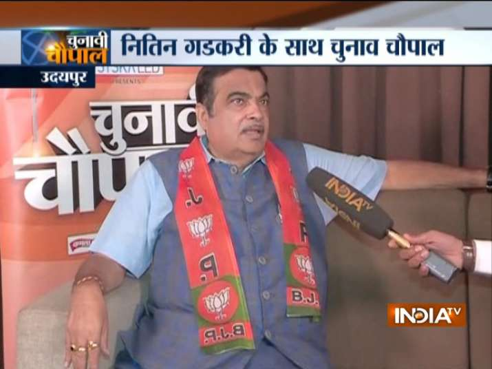 Nitin Gadkari Exclusive on India TV- India TV