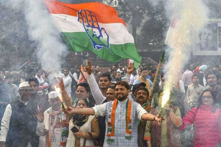 Congress party workers- India TV