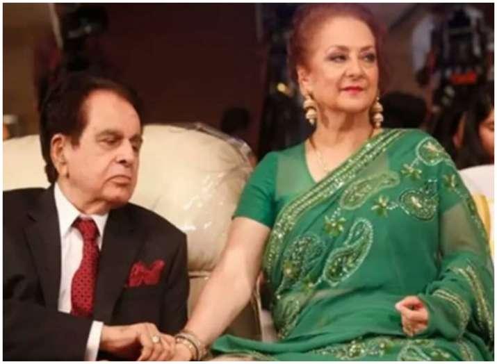 Dilip Kumar and saira bano- India TV