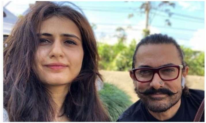 Aamir khan and Fatima sana shaikh- India TV