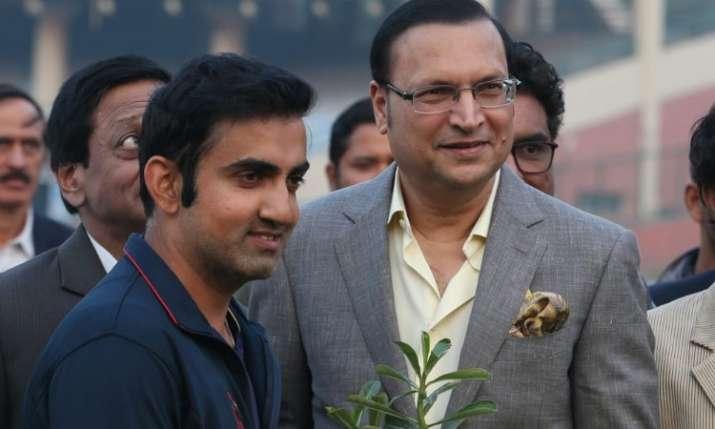 gambhir and rajat sharma- India TV