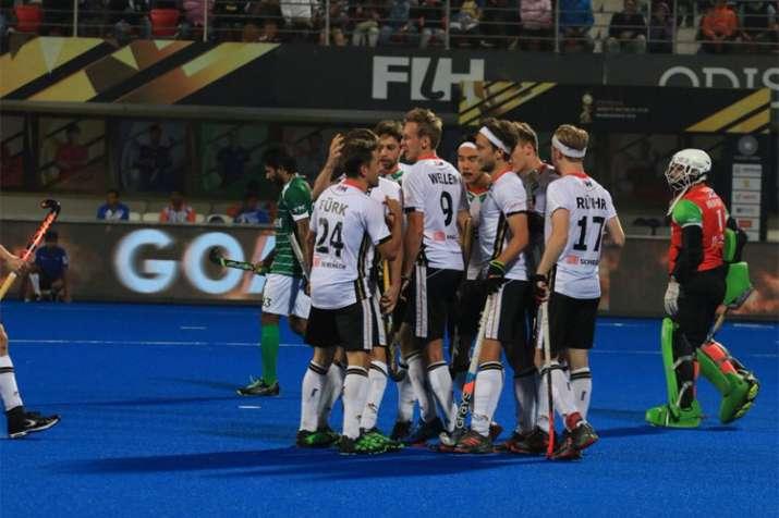 Hockey World Cup 2018: जर्मनी को कड़ी टक्कर देकर हारा पाकिस्तान - India TV