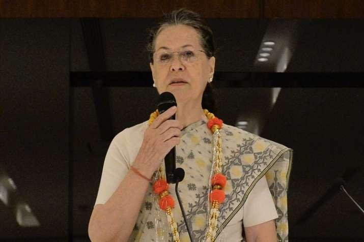 सोनिया गांधी- India TV