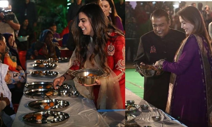 Isha Ambani Begins Pre-Wedding Celebrations- India TV