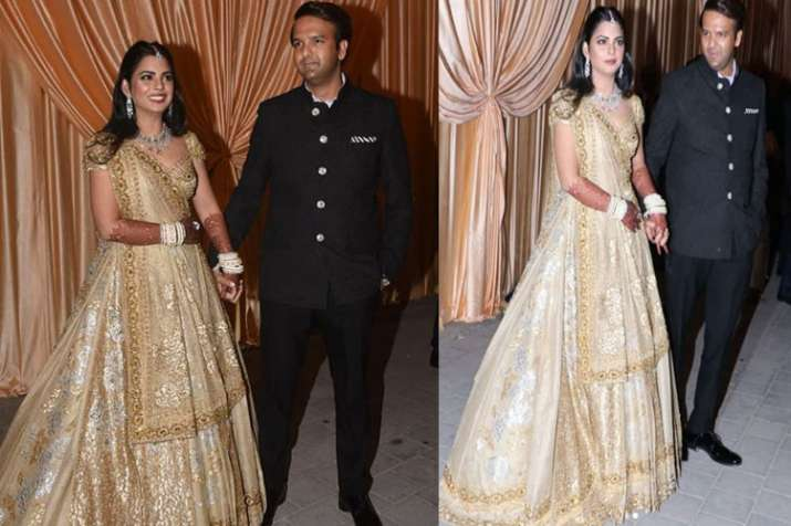 Isha Ambani Anand Piramal Wedding Reception In Jio Garden