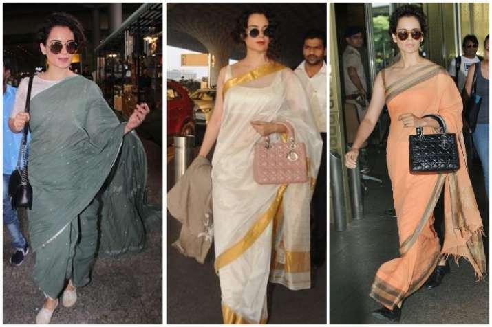 Kangana ranaut Airport Look- India TV