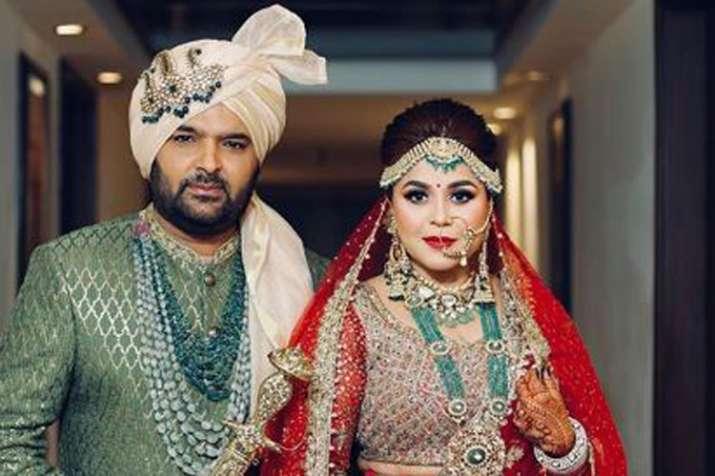 Kapil Sharma and Ginni Chatrath - India TV