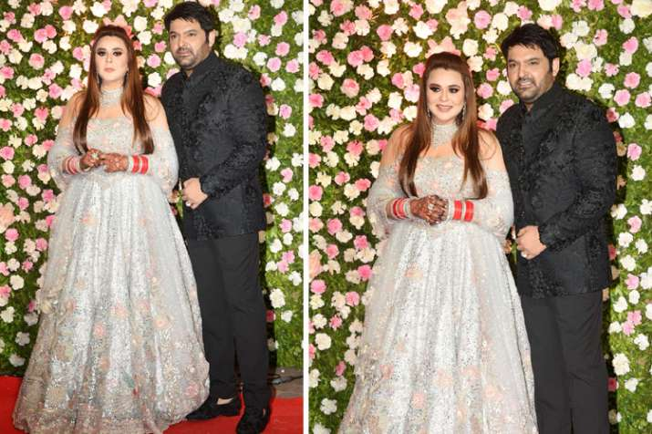 Kapil sharma and Ginni Wedding Reception- India TV