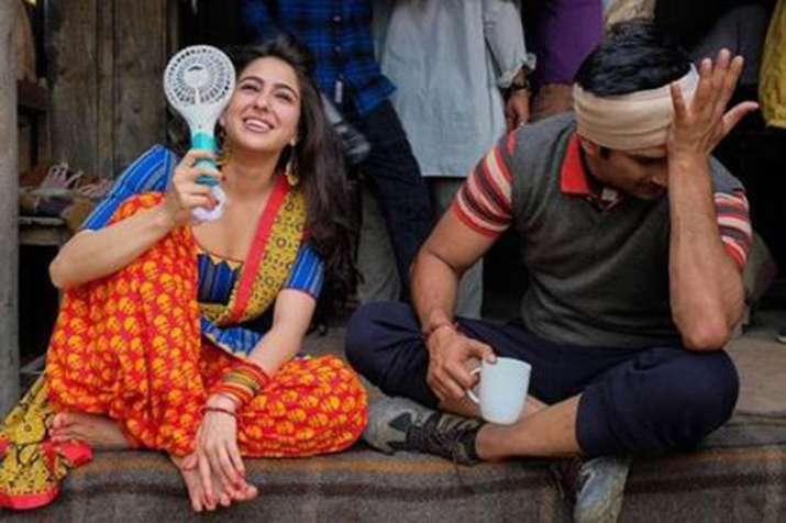 Sara Ali Khan and Sushant Singh Rajput- India TV