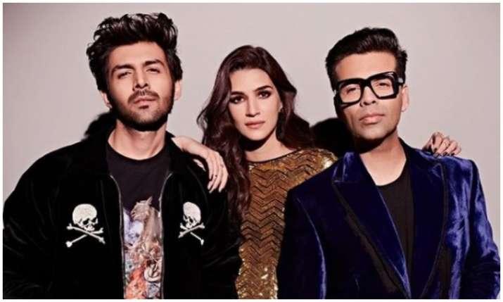 Kartik, kriti and karan- India TV
