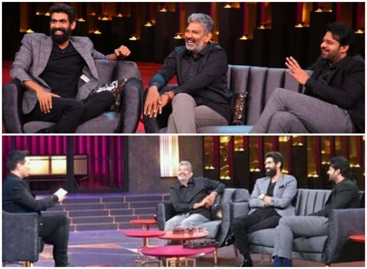 prabhas,rana daggubati and ss rajamouli- India TV