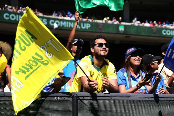 Fans enjoying India vs Australia's match- India TV
