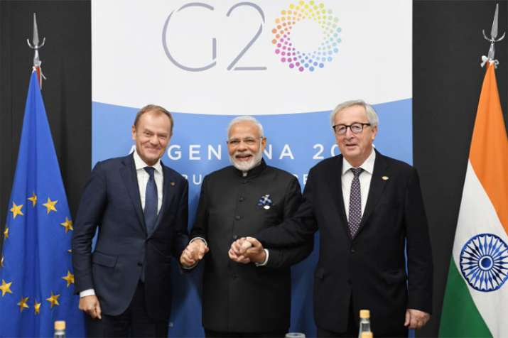 G20 Summit: PM Modi meets EU leaders, discusses ways to counter terrorism in all forms- India TV