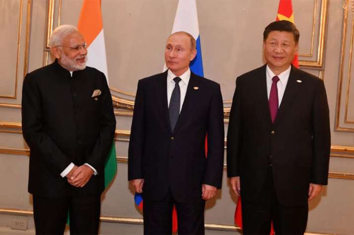 G20 Summit: PM Modi holds trilateral meeting with Xi, Putin in Argentina | Twitter- India TV