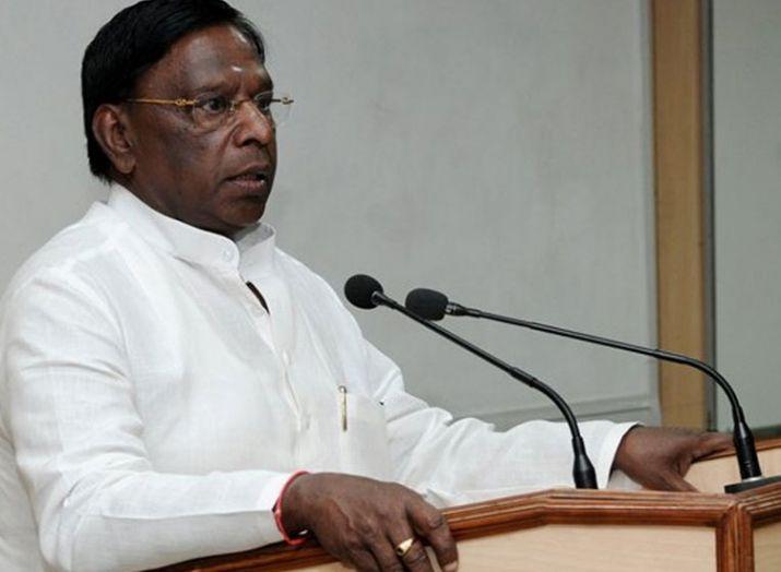 Puducherry CM V Narayanasamy- India TV