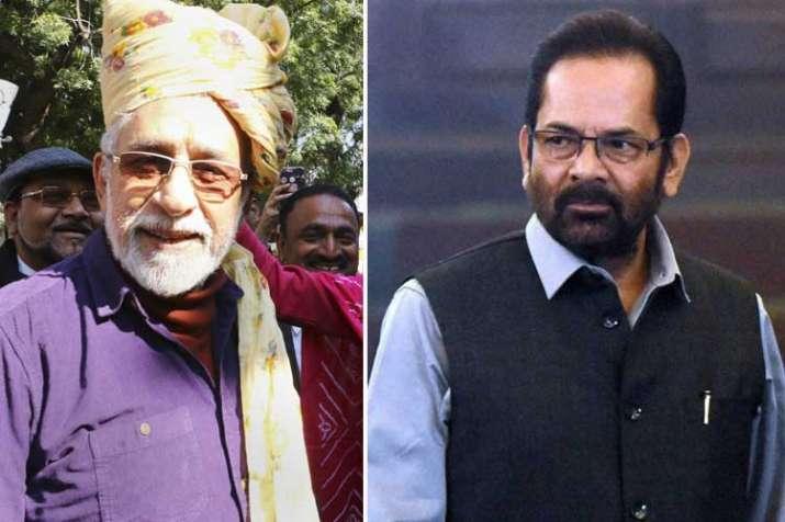naseeruddin shah and mukhtar abbas naqvi- India TV