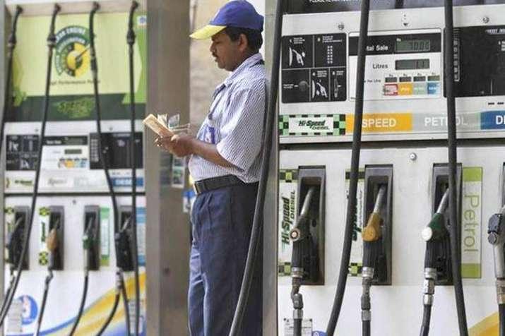 पेट्रोल, डीजल की कीमतों में फिर गिरावट जारी, ये है आज की कीमत- India TV Paisa