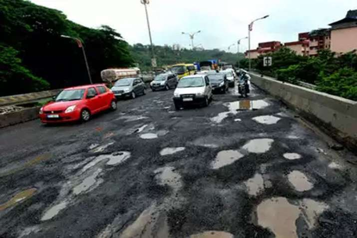 Supreme Court expresses concern over large number of deaths due to potholes in last 5 years- India TV