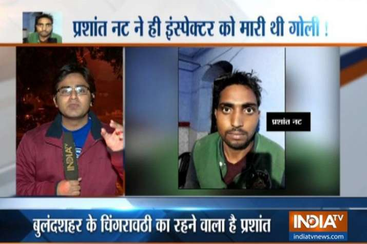 Bulandshahr violence: Police arrest prime accused Prashant Nutt who 'shot' Inspector Subodh Singh- India TV