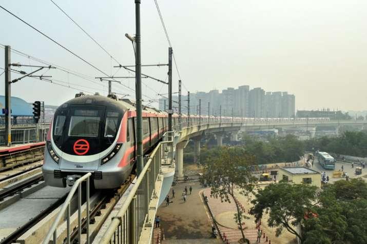 Pink Line Delhi Metro- India TV