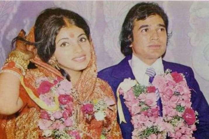 राजेश खन्ना और डिंपल...- India TV