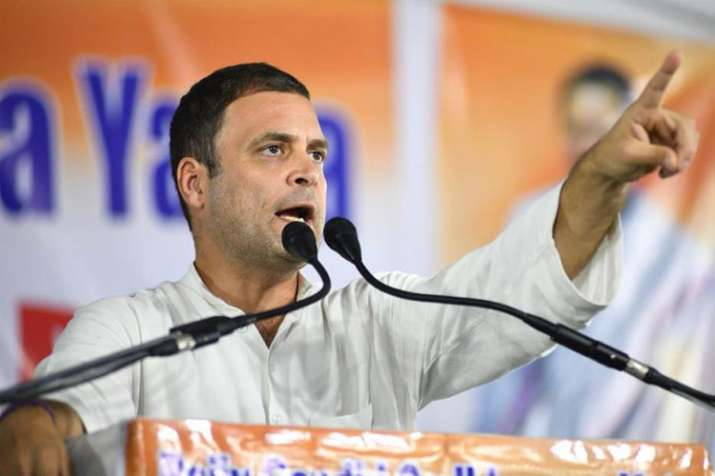Small businesses worst hit by demonetisation, GST, says Rahul Gandhi in Rajasthan- India TV
