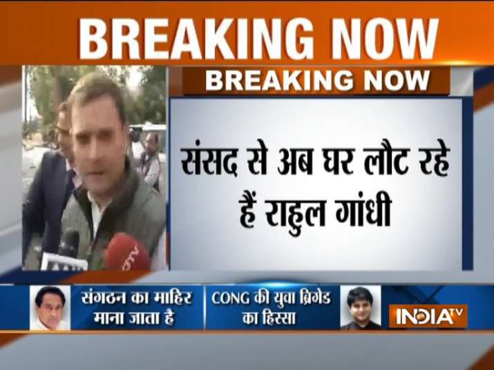 Who will be the CM in Rajasthan, Madhya Pradesh and Chhattisgarh? Know Rahul Gandhi's Reply- India TV