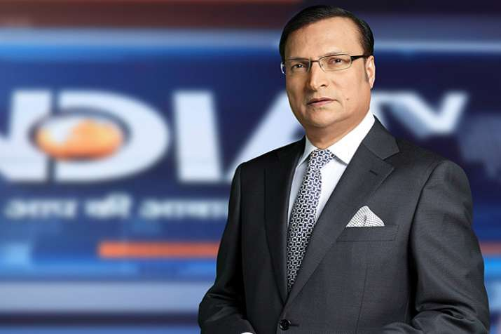 Rajat Sharma, India TV- India TV