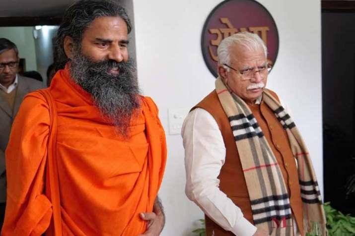 Yoga Guru Baba Ramdev- India TV