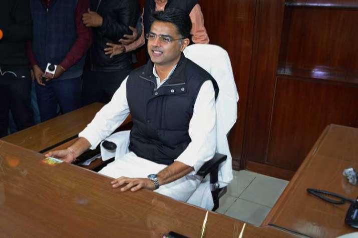 Rajasthan Deputy Chief Minister Sachin Pilot- India TV