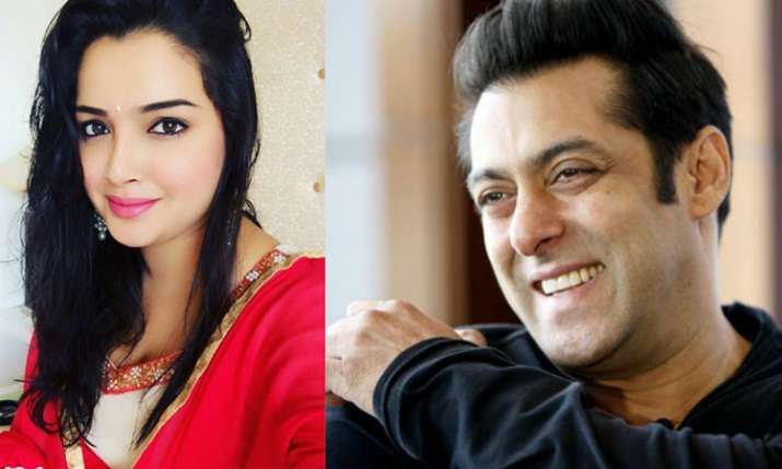 Amrapali Dubey-Salman Khan- India TV