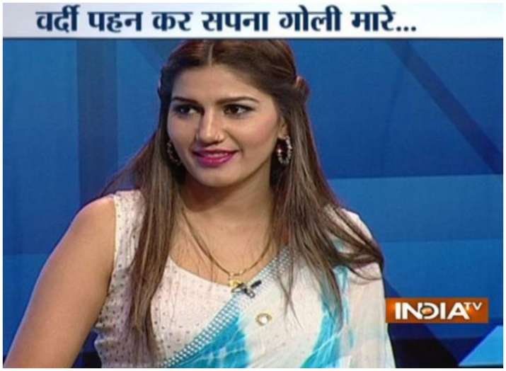sapna choudhary- India TV