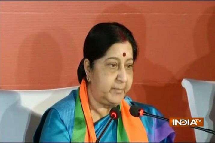 Sushma Swaraj- India TV