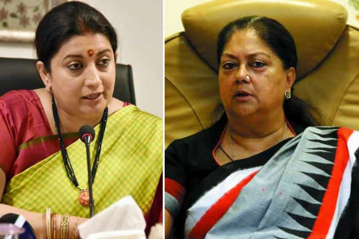 smriti irani and vasundhara raje- India TV
