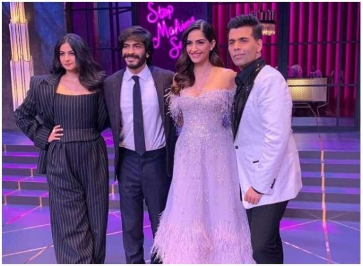 Sonam, rhea, harsh and karan- India TV