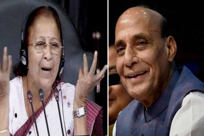 sumitra mahajan and rajnath singh- India TV