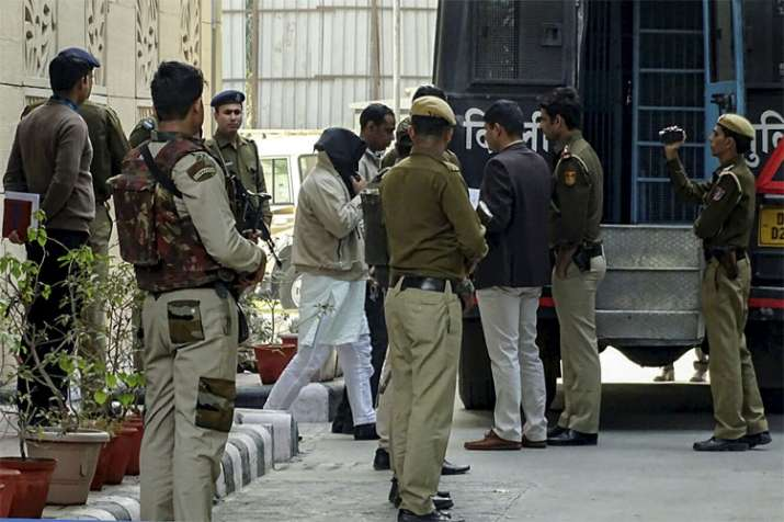 All accused of terrorist activities sent to 12 days police custody by Delhi court- India TV
