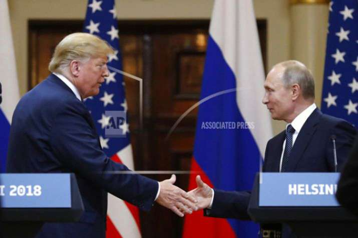 Trump Putin- India TV