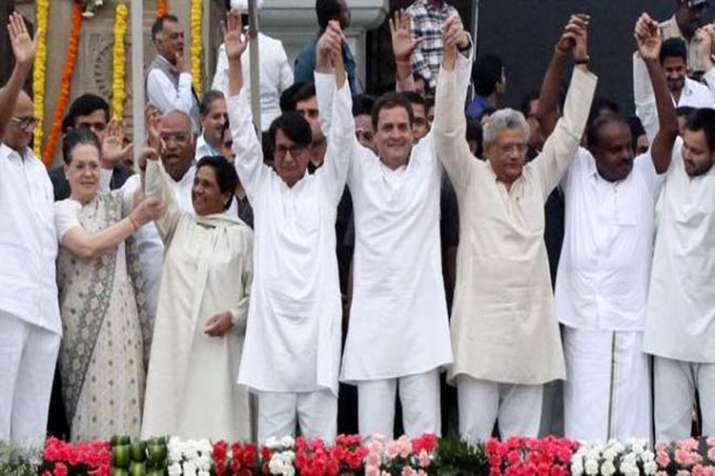 opposition alliance 2019- India TV