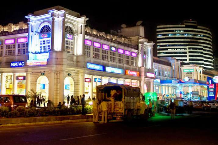 connaught place- India TV