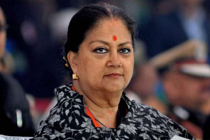 Vasundhara government ousted from Rajasthan by just over 1.7 lakh votes | PTI File- India TV