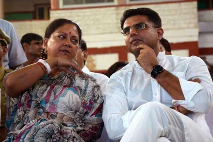 vasundhara raje and sachin pilot- India TV