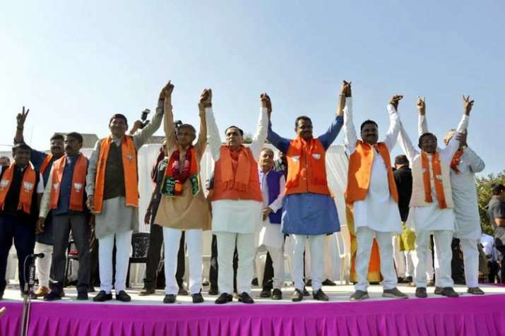 BJP wins Jasdan assembly bypoll in Gujarat- India TV
