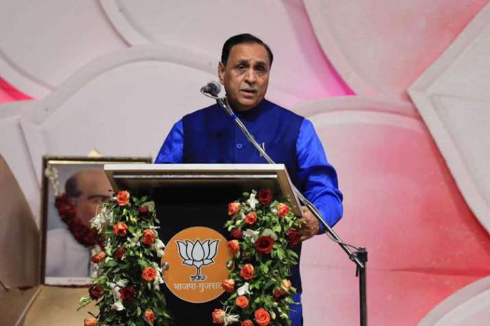 People from Rahul's constituency come to Gujarat for work, says Vijay Rupani | Facebook- India TV
