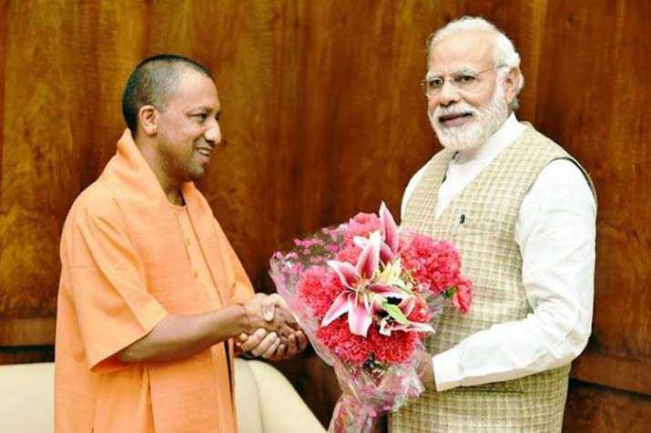 PM Modi and CM Yogi meet- India TV