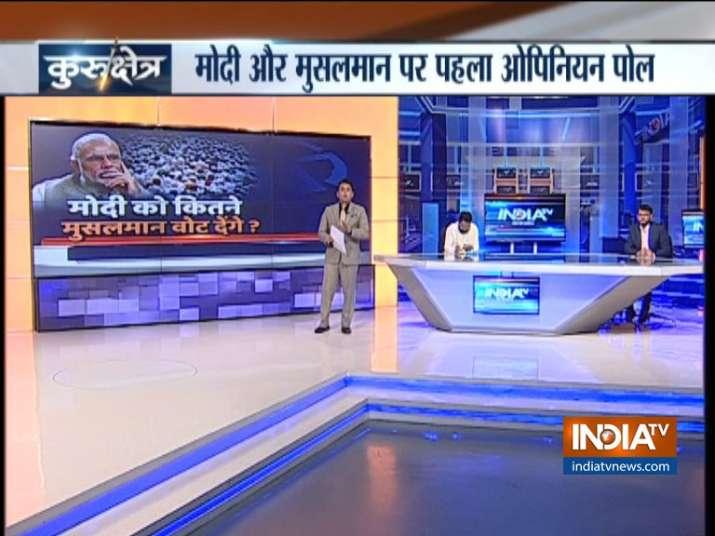 India TV CNX Opinion Poll on Muslim voters- India TV