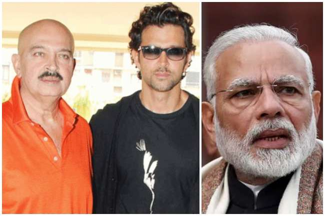 Pm modi and rakesh roshan- India TV