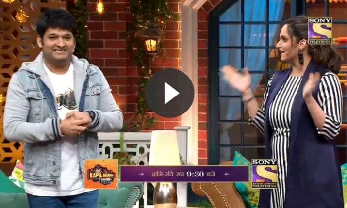 सानिया ने कुछ इस तरह दिया कपिल को करारा जवाब- India TV