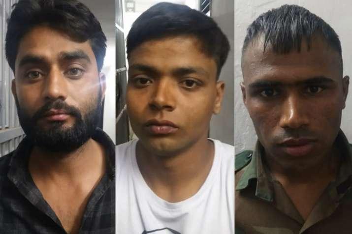 तीनों आरोपियों की तस्वीर- India TV